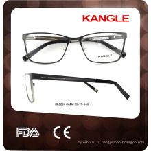 2017 новая модель джентльмены металла очки оптические рама очки очки рама