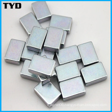 High Quality Block Sintered NdFeB Magnet with Zn Coating