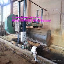 Máquina de madera horizontal de madera grande de la sierra de banda para el corte de madera