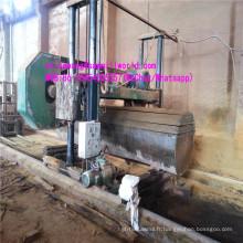 Machine en bois horizontale en bois de grande scie à ruban pour la coupe en bois