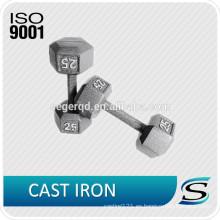 Mancuerna de hierro personalizado para uso doméstico