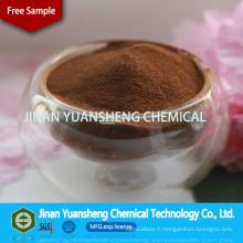 Réfractaire / liant céramique et lignosulfonate de sodium dispersant
