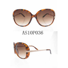 Melhor Designer Feminino Acrílico Moda Sun Eyewear Óculos com Ce Aprovado As10p036