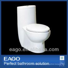 EAGO ceramic one piece siphonic flushing toilet TB309-1