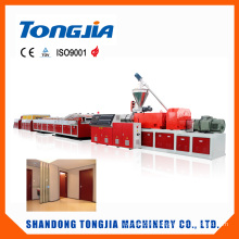 Environmental WPC Wood Plastic PVC Panel and Board Extrusion Line
