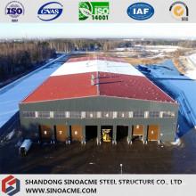 Heavy Steel Structure Workshop with Mezzanine