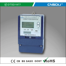 10 / 60A Трехфазные проволочные муфты Многофункциональный Kwh / Электрический / измеритель энергии для зарядки с временным разделением