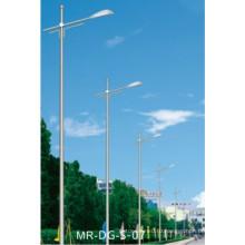 Уличный фонарь столб с одной рукой (МР-ДГ-З-07)