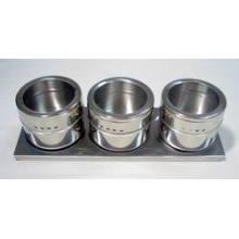 Especiero magnético de acero inoxidable (CL1Z-J0604-3B)