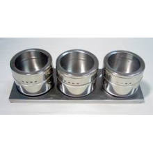 Stainless Steel Magnetic Spice Rack (CL1Z-J0604-3B)
