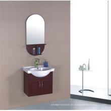 Muebles del gabinete de cuarto de baño del PVC de los 60cm (B-323)