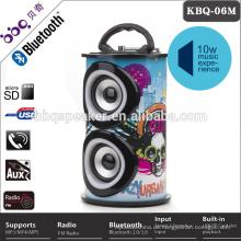 5W Buntes Audio-Lautsprecher-HiFi-System