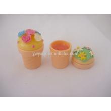 Süße Cupcake Moisturizing Lip Balm Lip Makeup Kosmetik
