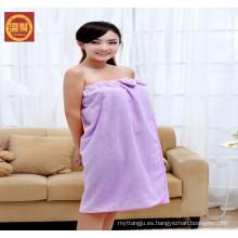 toalla dobby 100% de microfibra, toalla de baño de chica sexual