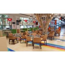 Solution de restauration de meubles de restaurant haut de gamme (FOH-RTC06)