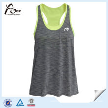 Ladies Loose Fitting Tank Top with Inner Bra Fitness