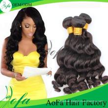 Wholesale Unprocessed Brazilian Virgin Hair Remy Human Hair Extension