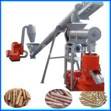 CE Flat Die Small Wood Pellet Machine Line