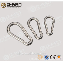 Safety Stainess Steel Hiking Carabiner Hook