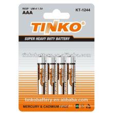 OEM welcome LR03 super heavy duty battery (AAA/AA/C/D/9V)