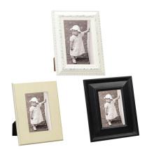 Nuevo diseño de madera sólida marco de fotos de artesanía