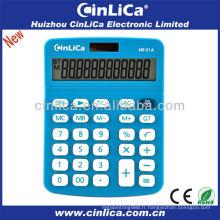 Calculatrice en plastique promotionnelle / usine de calcul