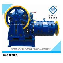 Máquina de tração de elevador de AC-2 Canon de 1000-2000kg
