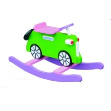 Cute Wooden Baby Chair Car Rocker for Kids and Children