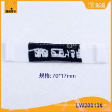 Ropa de alta calidad etiqueta tejida LW20013