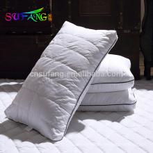 Almohada del uso en el hogar / almohada barata del uso del hotel de la almohada de la fibra del poliéster de las compras en línea del proveedor de China
