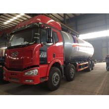 FAW 355000liters 8x4 LPG distribuidor LPG tanque caminhão GPL