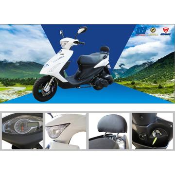 HS125T-38 Scooter a gás Cool-shape Senhora-easy Drive