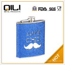 6oz screen print stainless steel hip flask how to draw water flask