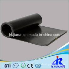 Hoja de 4 mm de espesor negro FKM Viton Rubber para la industria
