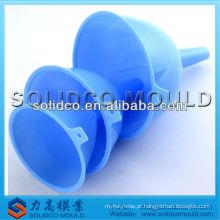 Molde de injeção de funil de plástico