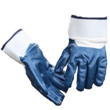 NMSAFETY EN388:2016 nitrile coated heavy duty winter work gloves