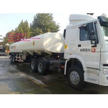 reboque do tanque de combustível de 3axles Sinotruk cimc