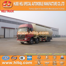 FOTON dry bulk cement tank truck 8x4 40M3 270hp shock price professional production hot sale