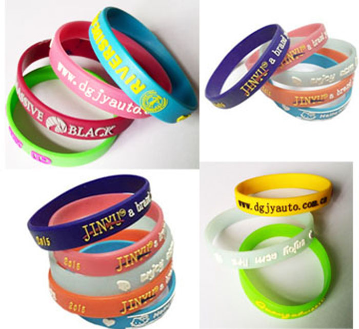 Silicone Wristband Samples