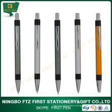 Student Stationery Items Aluminium Metal Custom Logo Pen