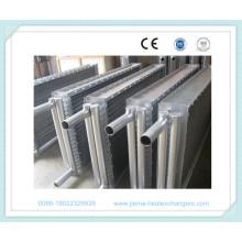Lamellenrohr-Luftwärmetauscher für die Holztrocknung