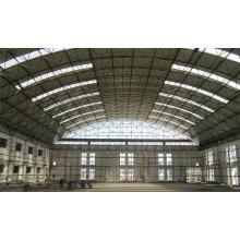 Vorfabrizierter Stahlbinder-Struktur-Flugzeug-Hangar der großen Spannweite