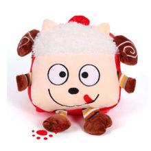 Plush Cartoon Little Sheep Backpack