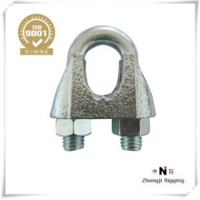 Type JIS type B are constructed of high quality electro-galvanized malleable iron wire rope clip