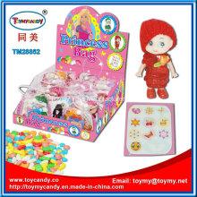 Süßes Mädchen Puppe Spielzeug mit Süßigkeiten