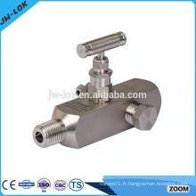 Chine Fabricant de vanne à haute pression, vanne à jauge de pression