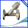 Single Actuator 2/2Way Angle Valve With Stainless Steel Body