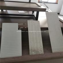 Placa de aluminio refrigerada por agua para panel colector solar