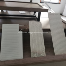 Water cooled Aluminium plate for Solar collector panel