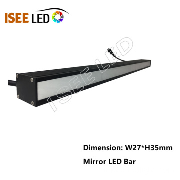 غطاء مرآة LED مصباح خطي RGB Bar Light